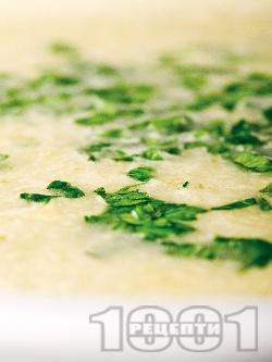 Кашкавалена супа - снимка на рецептата